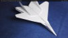 How to make a model airplane with paper