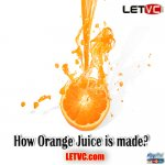 How Orange Juice is made?