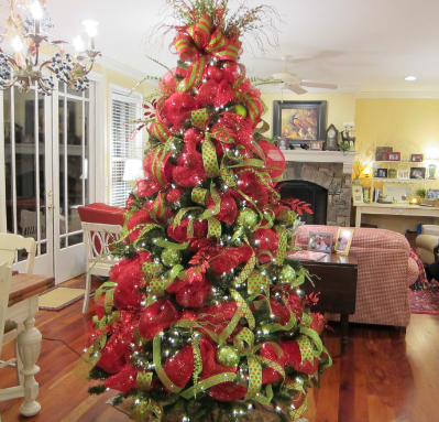 you can shop online in letvccom for an extensive selection of videos with lowest price using deco mesh in your christmas tree - Christmas Mesh
