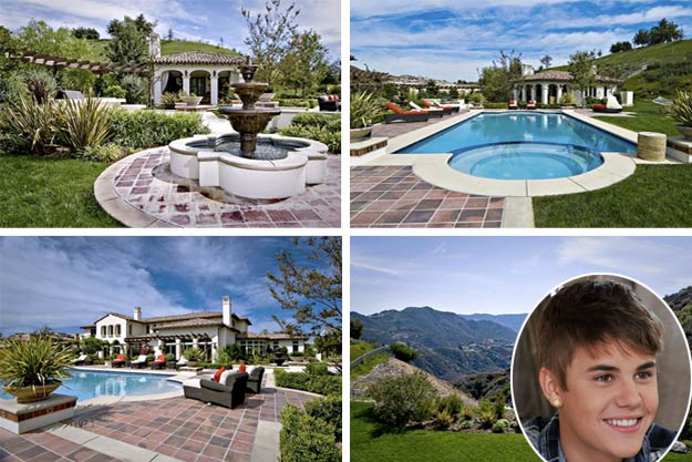 justin bieber s new house