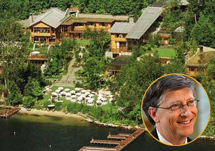 Bill Gates Houses