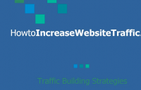Tips for building traffic for website