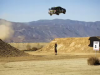 Ken Block jumps his rally car 171 feet