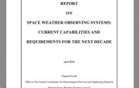 Title - Space weather conditions Report From White House