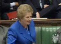 Margaret Thatcher's famous address at the House of Commons