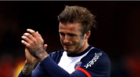 David Beckham; The last match