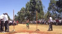 Kenyan high school high jump