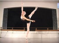 The Beauty of a Ballerina's Strength