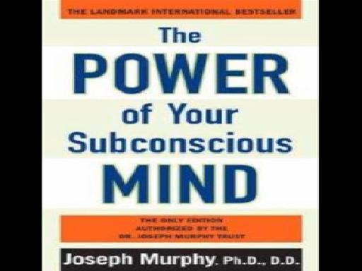 The power of subconscious mind tamil pdf
