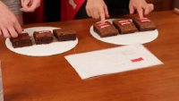 How to make Domo Kun brownies?