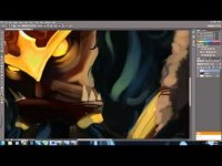 Digital painting - World of warcraft mists of pandaria