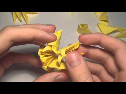 How to Make 3D Origami Units | 360x480