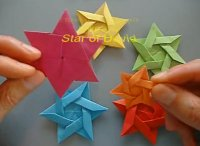 Making origami star of David, tutorial