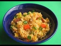 How to make fried rice, cooking
