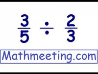 Dividing Fractions, mathematics