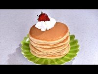 How to Make Homemade Pancakes - recipe, cooking video
