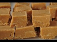 How to make peanut butter fudge, recipe demonstration