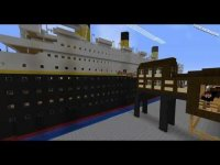 Minecraft, the story of the titanic video