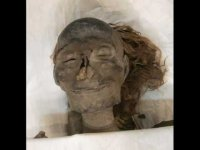 Egyptian mummies, not good for children