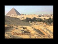 The pyramids were built by slaves, educational