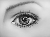 How to draw an eye, time lapse, learn to draw realistic, tutorial