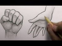 How to draw hand? Learn to draw