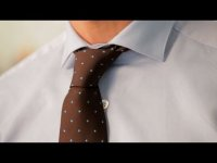 How to tie Half-Windsor, tutorial video