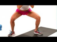 How to Do a Plie Squat  - Thighs Workout