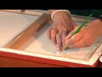 How to Repair a Rip in an Oil Painting - Painting Basics