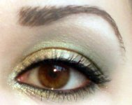Christmas inspired makeup ♡ Green and yellow makeup tutorial