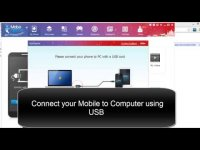 How to connect your android Mobile to PC?