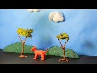 How to Create Clay Scenery - Stop Motion