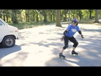 How to Do a Hockey Stop - Roller-Skate