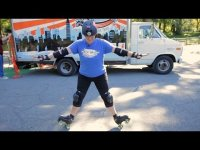 2 Quad Roller-Skating Tricks - Roller-Skate