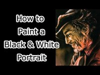 Painting a Black and White Painting