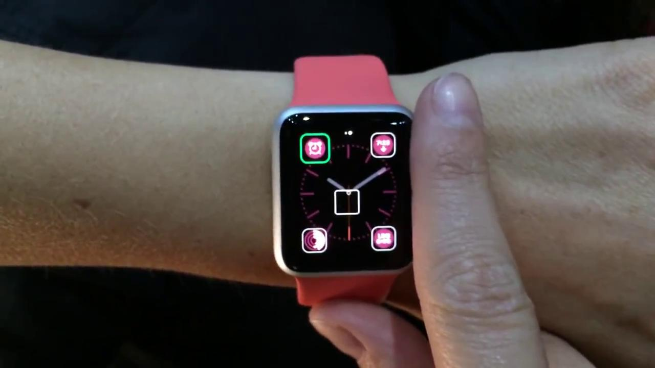 Latest Demo of Apple Watch
